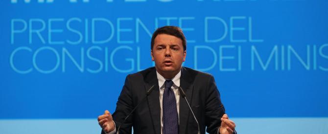 Renzi perde il gradimento degli italiani: giù di 7 punti in un mese