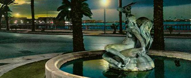 Stupidità senza frontiere, estremisti islamici distruggono fontana a Tripoli