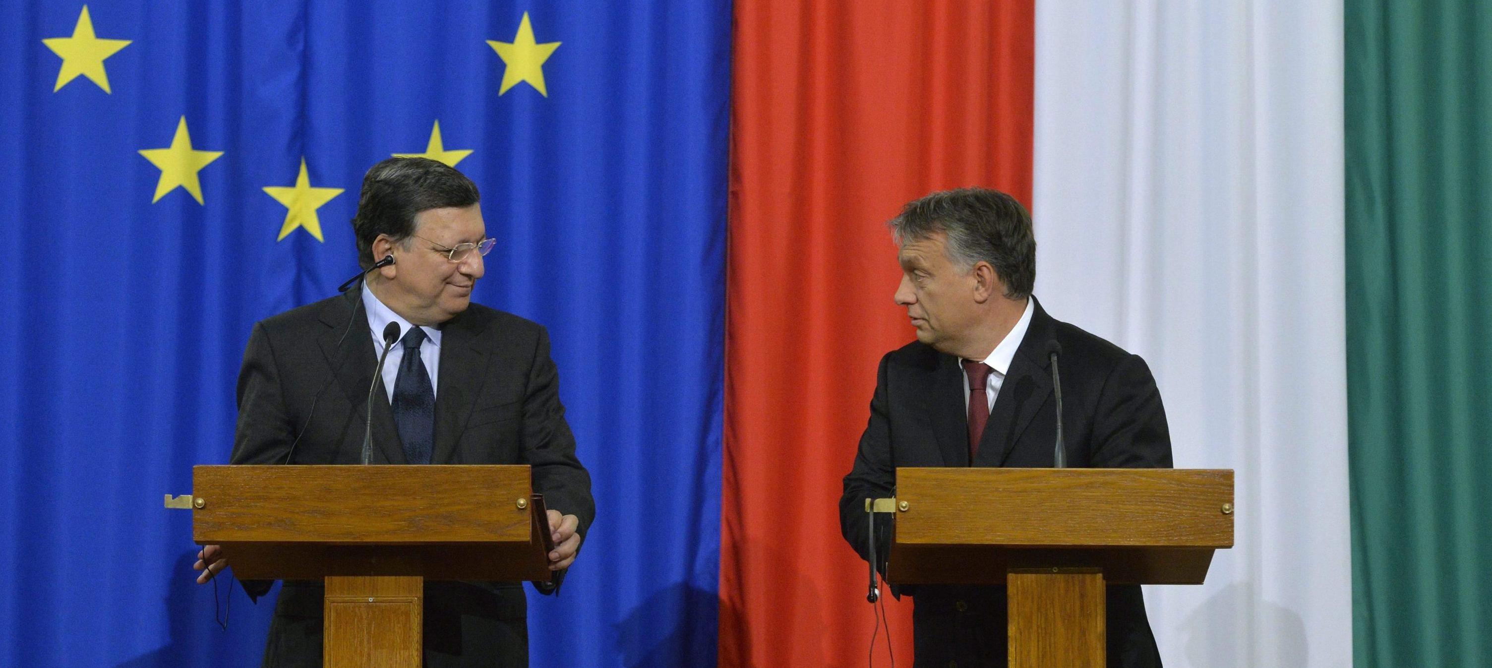 Orban e Barroso