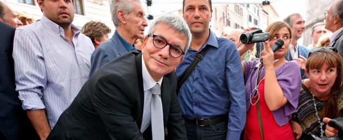 """Vendola isterico: grida """"fascisti di m.."""" ai consiglieri di Forza Italia"""