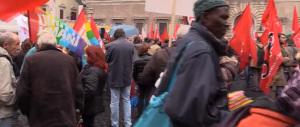 Tsipras e tutta la vetero-sinistra in piazza contro Renzi e Berlusconi