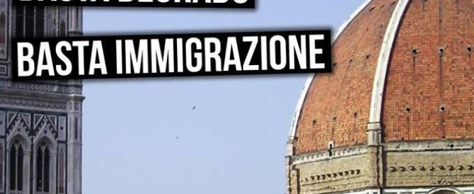Periferie abbandonate, scontri a Firenze per un presidio di Forza Nuova. 9 feriti