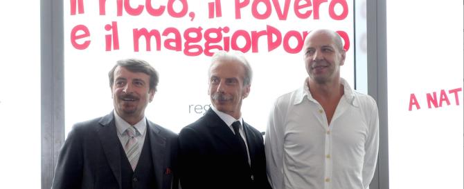 """Il trio comico Aldo, Giovanni e Giacomo difende gli """"okkupanti"""""""
