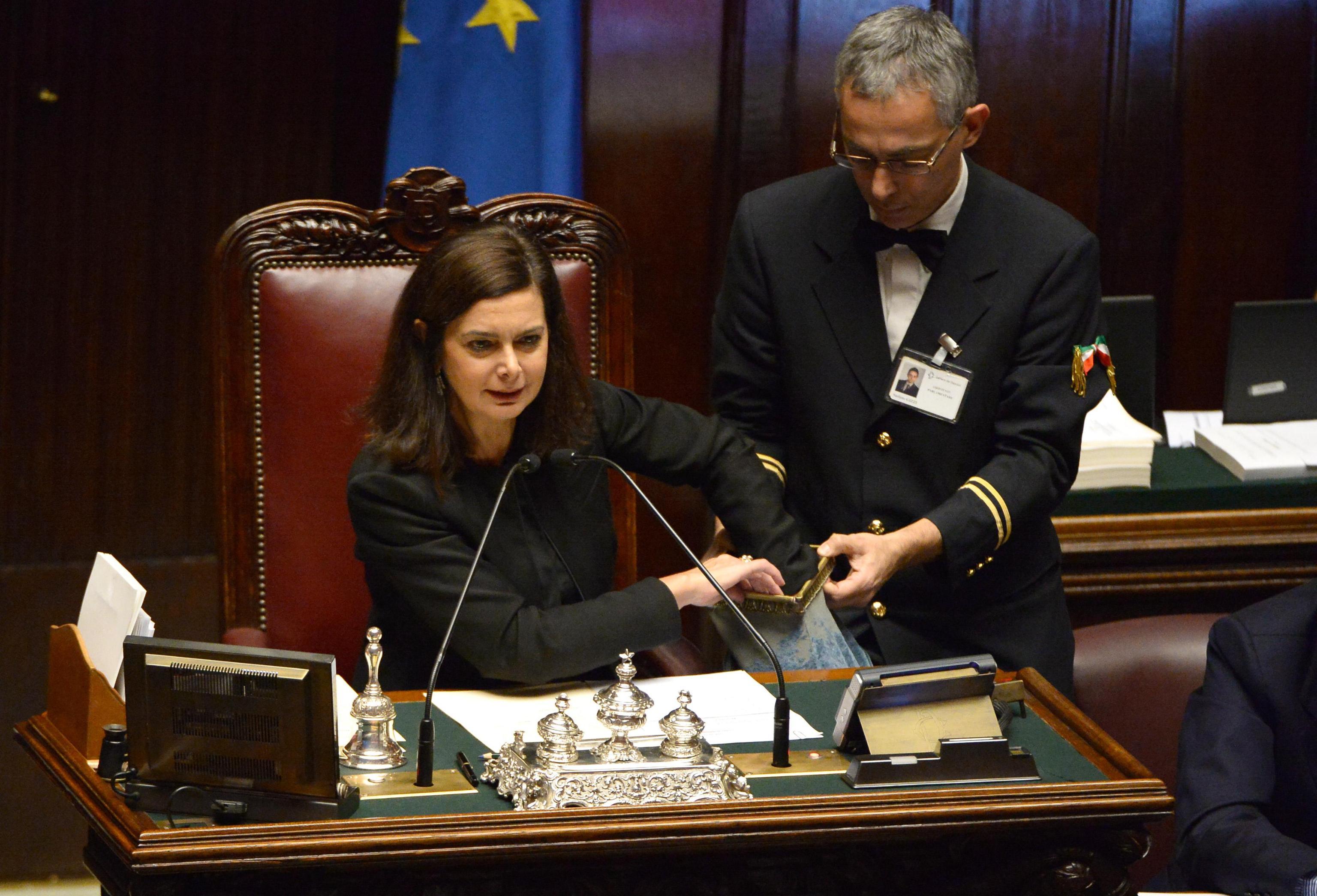 La Boldrini come Ponzio Pilato: di Galan se ne lava ancora le mani