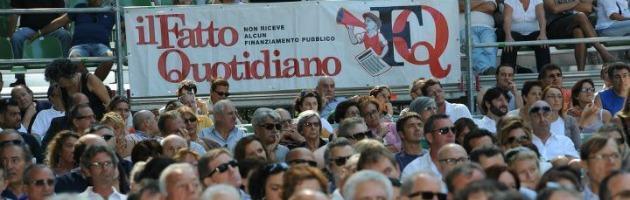 """La festa del """"Fatto quotidiano""""? Paga il Comune. L'ira di Forza Italia"""