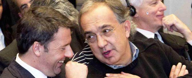 La Ferrari scappa dal fisco italiano. E Renzi benedice l'amico Marchionne…