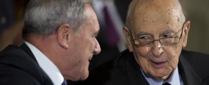 """Napolitano, ultimo soccorso rosso: ecco le 7 """"stampelle"""" per Renzi"""