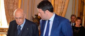 Marò, Renzi convocato (e bacchettato) dal presidente Napolitano
