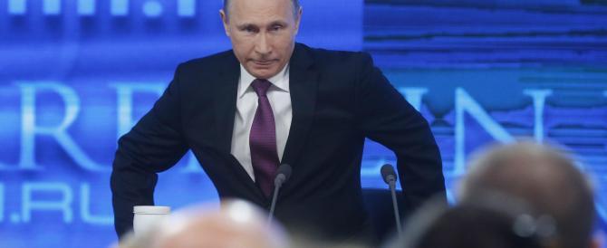 Putin passa all'attacco: «Vogliono toglierci gli artigli, non ce la faranno»