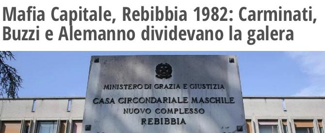 """La bufala del """"Fatto"""": Carminati non era a Rebibbia quando arrivò Alemanno"""