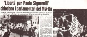 Paolo Signorelli, professore e attivista, in carcere innocente per anni