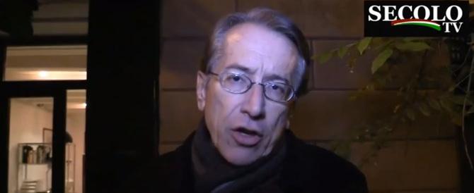 Terzi: «I Marò furono rispediti in India per motivi affaristici» (video)