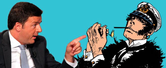 Supergulp, c'è Renzi in tv. Ridateci subito Corto Maltese e Alan Ford