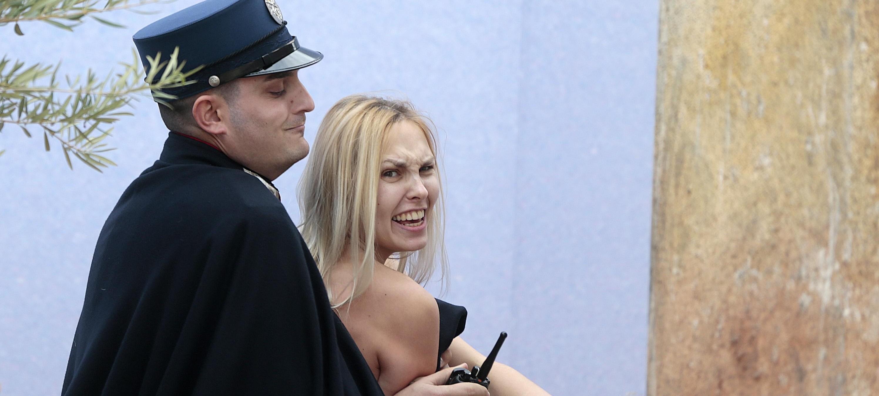 femen arrestata