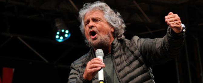 Grillo vuol rinchiudere Salvini in un campo rom. E si becca il kappaò