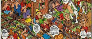 «Eia, eia, baccalà!»: così Jacovitti dissacrava tutto nelle sue tavole