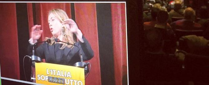 Meloni si candida a sindaco di Roma: «Ridaremo voce alle periferie» (video)