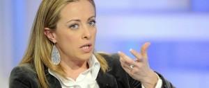 Giorgia Meloni: «Sul Def Renzi si conferma figlio di Vanna Marchi»