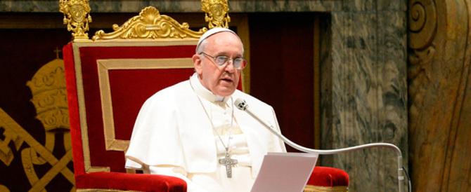 Papa Francesco: ecco quali sono le 15 malattie che affliggono la Curia