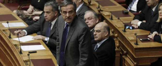 Niente presidente, Grecia nel caos: si torna al voto. Crolla la Borsa di Atene