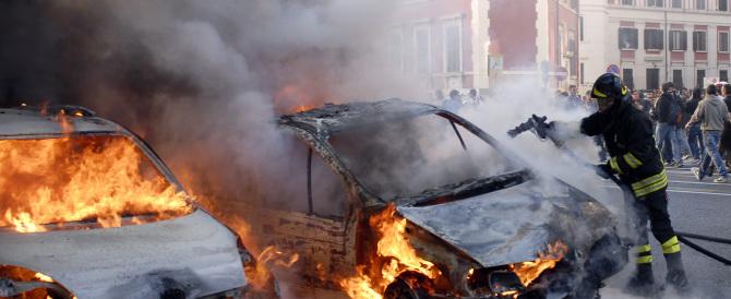 Roma violenta: nelle feste è allarme rapine, droga e auto in fiamme