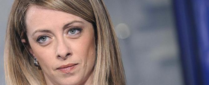 Giorgia Meloni: nel mio presepe vivente Renzi farebbe l'asinello