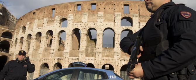 Terrorismo a Roma: pioggia di smentite «per non creare allarmismo»