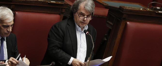 Brunetta contro il patto del Nazareno: sull'Italicum Renzi lo ha deformato