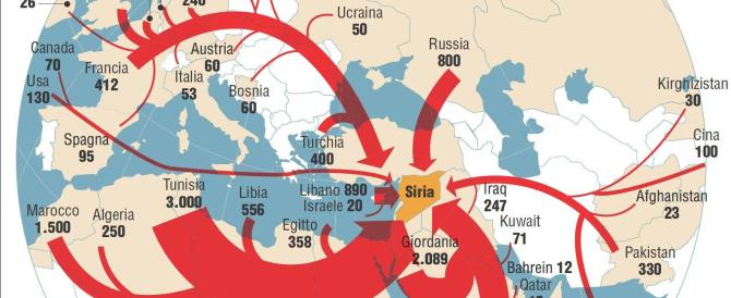 """Ci sarebbe anche una giovane donna italiana tra i """"foreign fighters"""""""