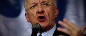 Un altro dignitario del Pd nei guai: De Luca condannato per abuso d'ufficio