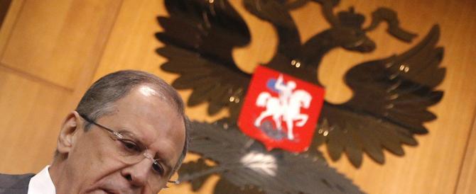 Lo scatto d'orgoglio del russo Lavrov: l'Occidente non riuscirà ad isolarci