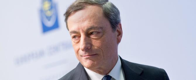 Draghi prepara la terapia d'urto: acquisti di 50 miliardi di bond al mese
