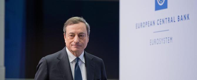 Draghi pronto ad intervenire contro la crisi. Ma non convince le Borse