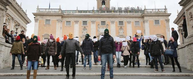 Pussy Riot a Roma: Marino offre il Campidoglio alla gazzarra anti-Putin