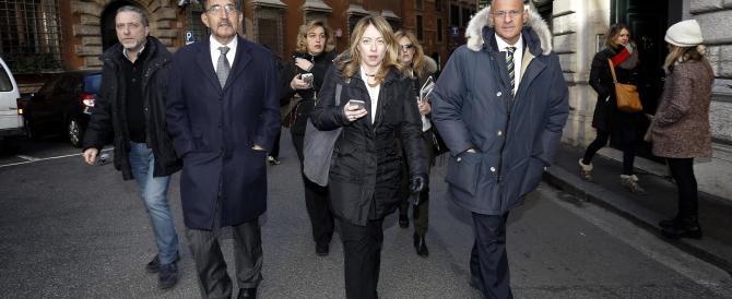 """Fratelli d'Italia: """"Dopo il no al referendum si torni alle urne"""""""