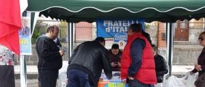 Quirinale, Fratelli d'Italia in piazza con i gazebo per fare scegliere i cittadini