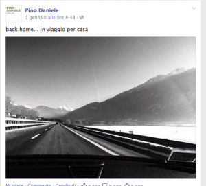 Pino Daniele Facebook