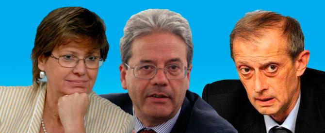 Fassino, Gentiloni, Lanzillotta: ecco la terna di Renzi per il Quirinale