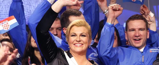 Croazia, la destra vince le elezioni. Una donna eletta presidente