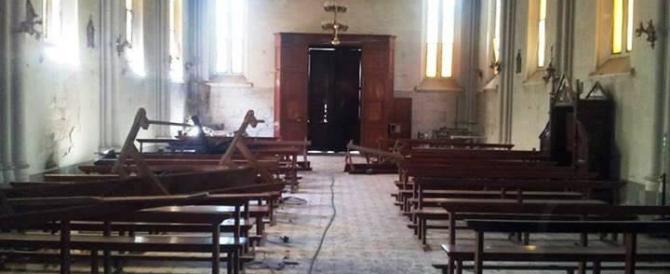 Urlando frasi del Corano marocchino devasta una chiesa nel Trentino