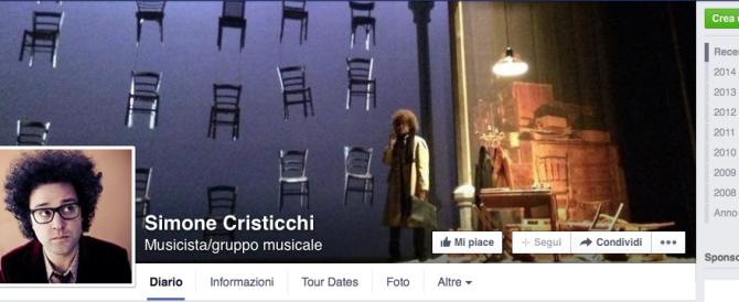 Cristicchi difende il film sulla strage partigiana: no alle censure