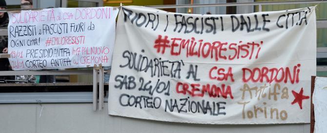Cremona, antifascisti ottusi: il nemico è il mondialismo, non CasaPound