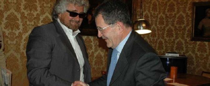 L'autogol di Grillo: votare Prodi per rompere l'asse Renzi-Berlusconi?