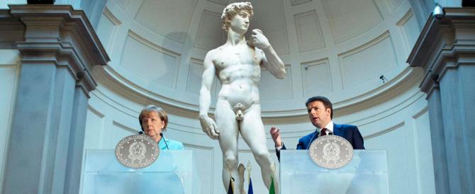 """La Merkel vuole un Quirinale """"tedesco"""". Ecco i 5 nomi che ha dettato a Renzi"""