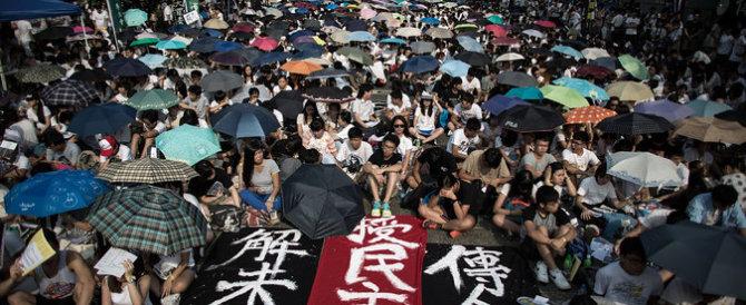 Hong Kong, non si ferma la repressione cinese contro gli studenti