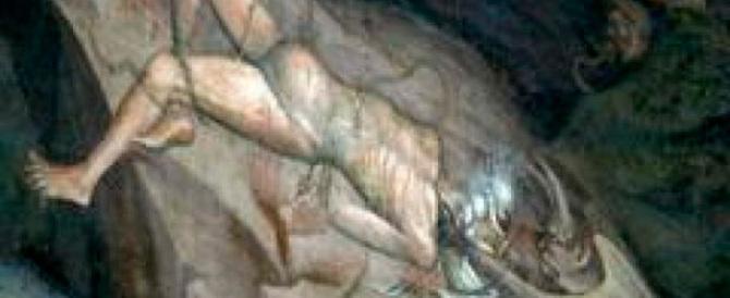 A Bologna il ritratto di Maometto all'Inferno che fa infuriare gli islamici