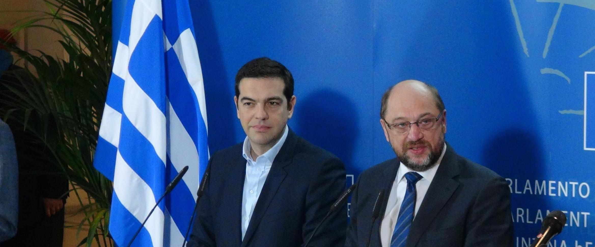 Tsipras insieme con Shultz
