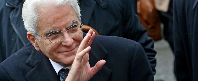 Mattarella: «Contro l'Isis e ogni terrorismo islamista l'Italia c'è già»