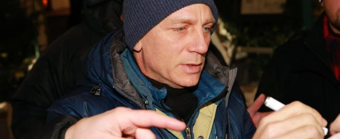 James Bond sbarca a Roma. E Marino si fa fotografare con Daniel Craig