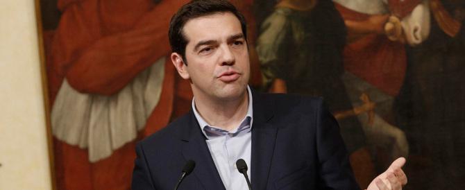 """Tsipras vuole un nuovo """"piano-Marshall"""" per la Grecia"""